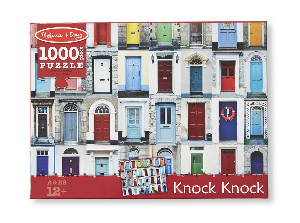 Knock Knock Cardboard Jigsaw - 1000 Pieces 9092
