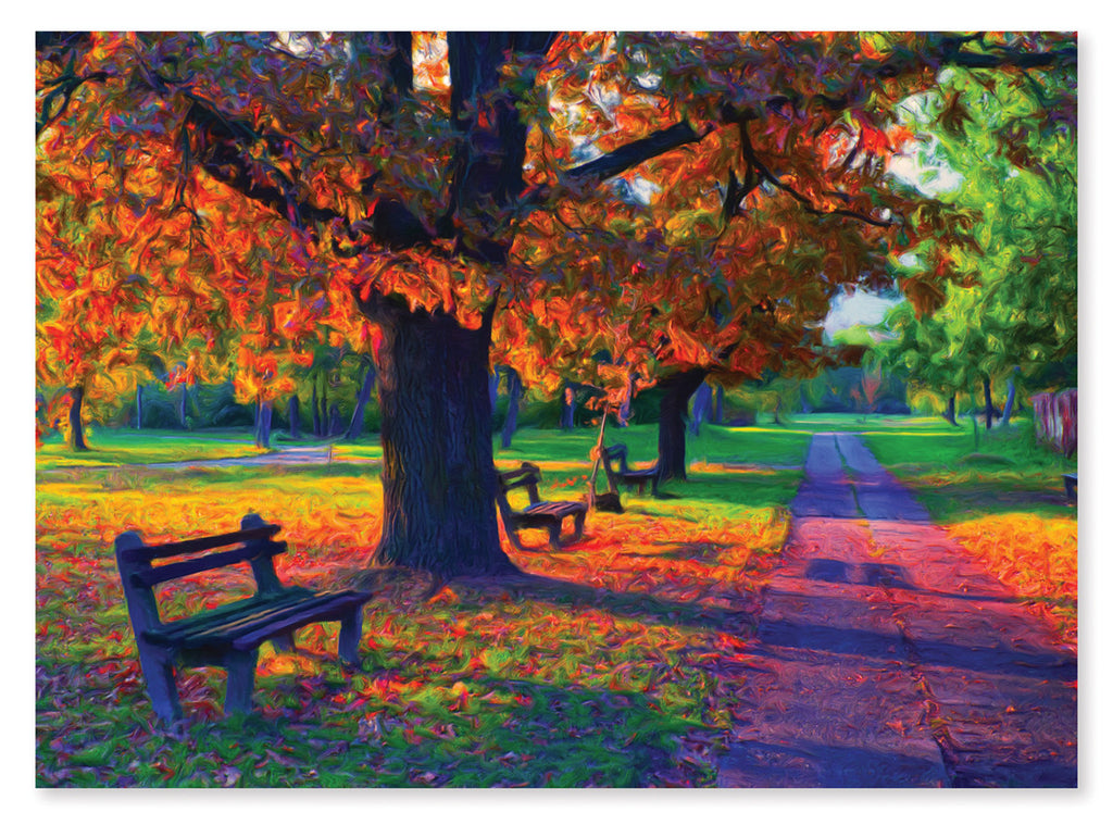 Walk in the Park Cardboard Jigsaw - 1500 Pieces 9093