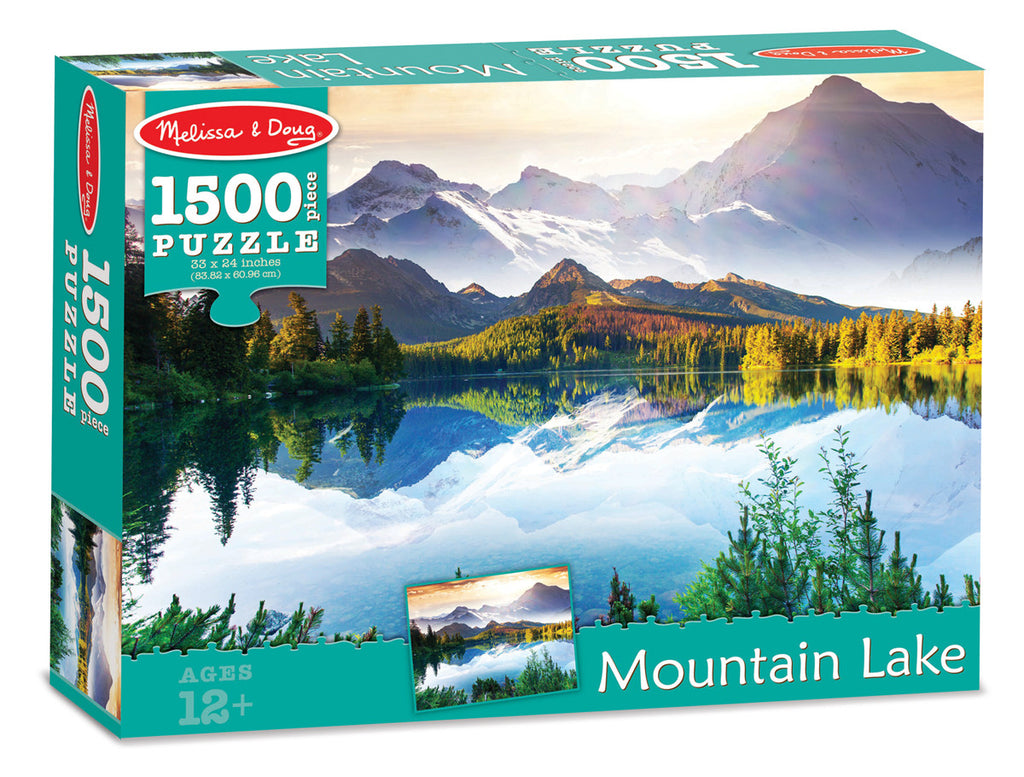 Mountain Lake Cardboard Jigsaw - 1500 Pieces 9094