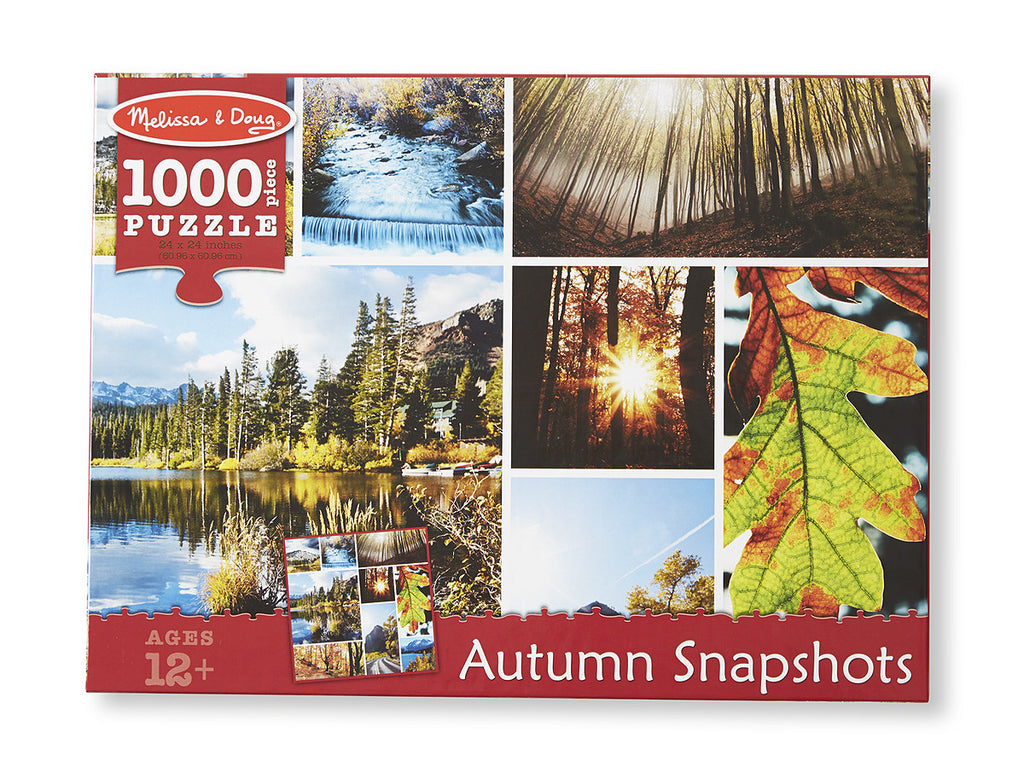 Autumn Snapshots Cardboard Jigsaw - 1000 Pieces 9096