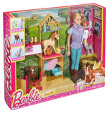 Mattel Barbie Farm Vet Doll & Playset DHB71