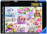 Ravensburger Adult Puzzles 2000 pc Puzzles - Sweets 16688