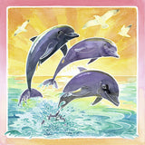 Ravensburger Arts & Crafts Aquarelle Glow Edition - Dolphins 29446