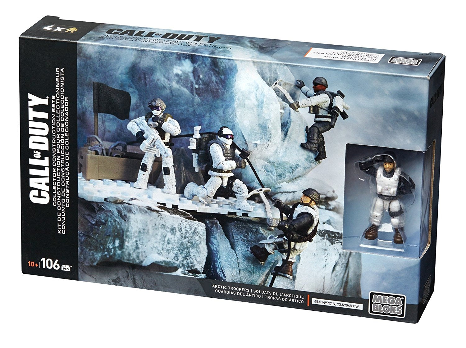 Mattel Mega Construx Call of Duty Arctic Troopers DPB53