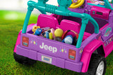 Fisher Price Power Wheels® Nickelodeon™ Shimmer And Shine™ Jeep® Wrangler DWR11