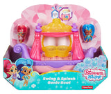 Fisher Price Nickelodeon Shimmer & Shine, Swing & Splash Genie Boat DTK86