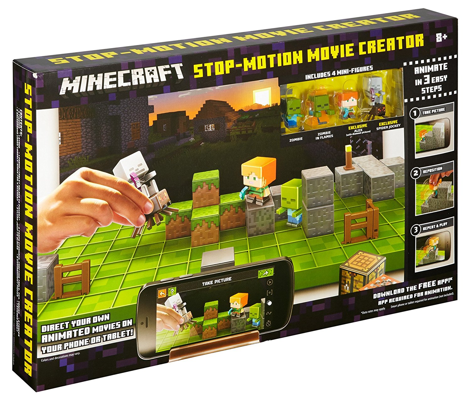 Minecraft Stop Motion Movie Creator DYT67