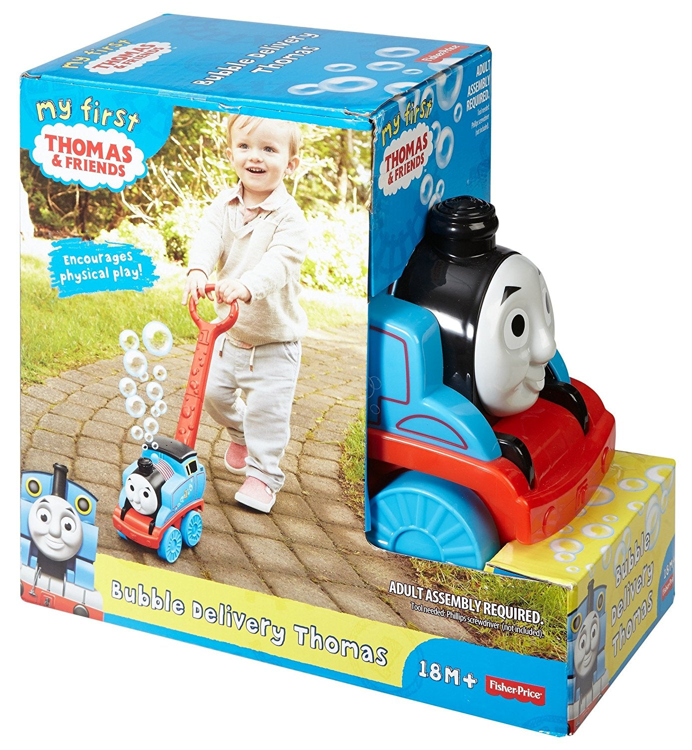 Mattel Fisher-Price My First Thomas & Friends Bubble Delivery Thomas DGL03