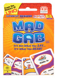 Mattel  Mad Gab Picto-Gabs Card Game  T5135
