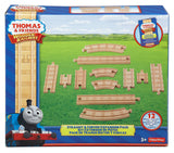 Fisher Price Thomas the Train Wooden Railway Straight and Curved Expansion Track Y4089