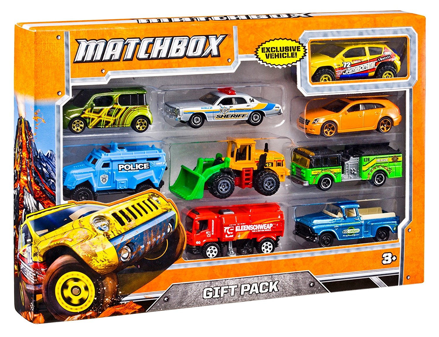 Mattel Matchbox® 9 Car Gift Pack X7111  (Styles May Vary)