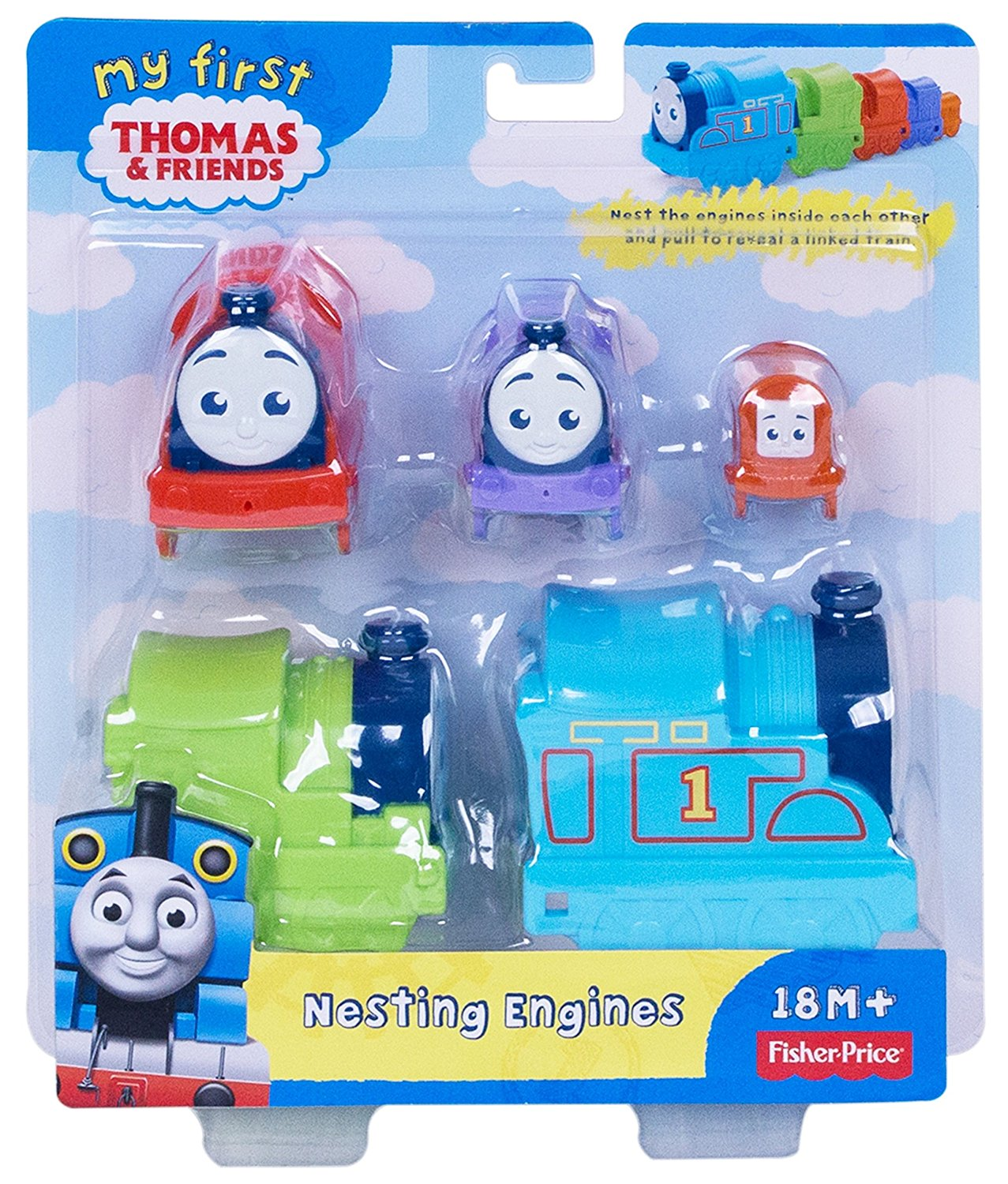 Fisher Price My First Thomas & Friends™ Nesting Engines DVR11