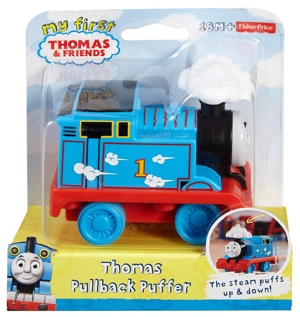 Fisher-Price My First Thomas the Train Pullback Puffer Train
