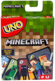 Mattel Uno Minecraft Card Game FPD61