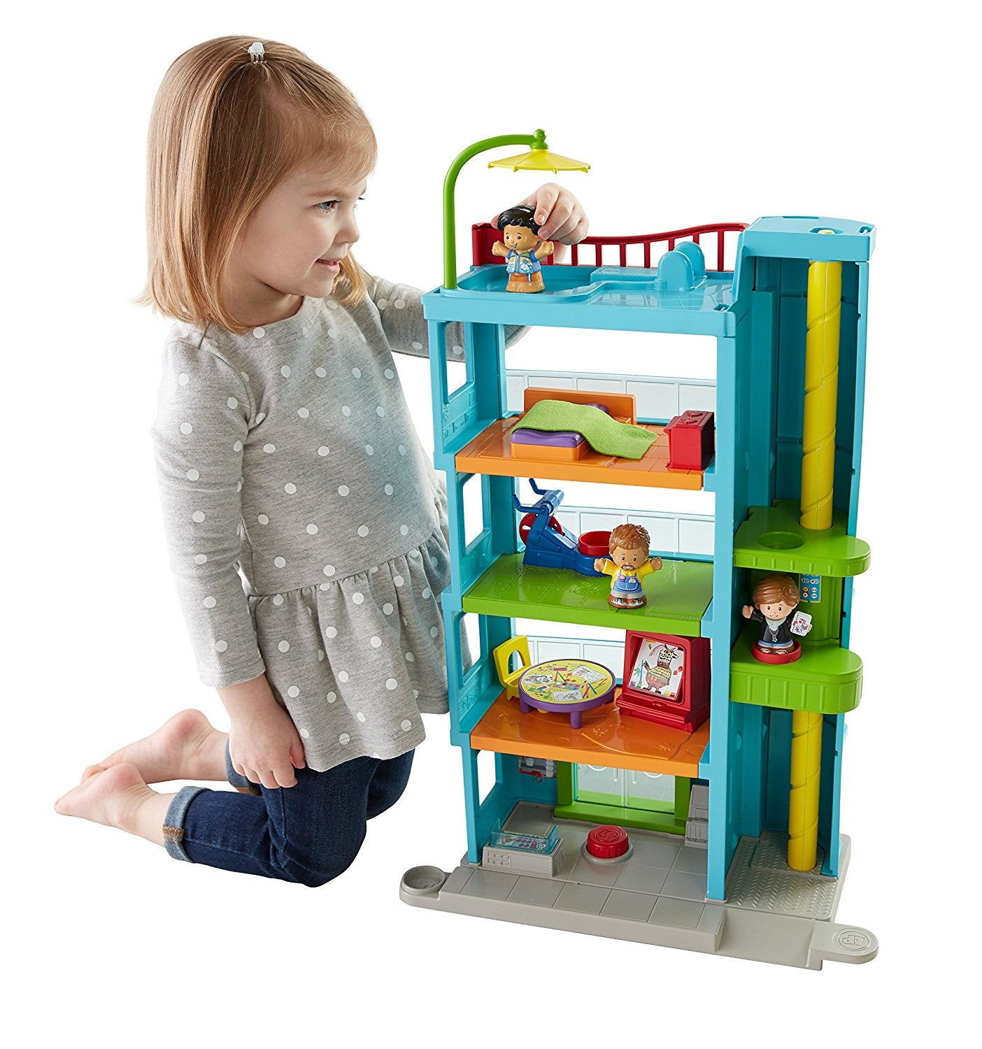 Fisher-Price Little People Friendly People Place DRL42