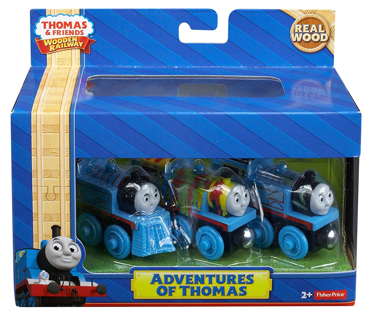 Fisher Price Thomas The Train Wooden Railway Adventures Of Thomas Y4102