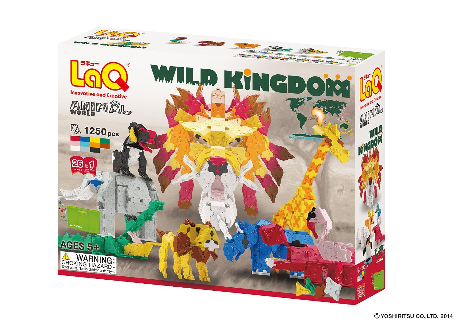 LaQ Animal World Wild Kingdom LAQ001351 - Discontinued