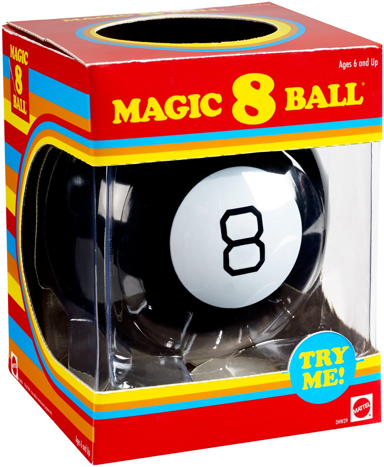 Mattel Magic 8 Ball® Retro-Style DHW39