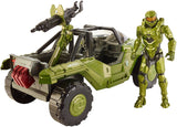 "Mattel Halo 12"" Warthog Vehicle and Master Chief Figure DNT96"