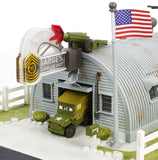 Mattel Disney•Pixar Cars Precision Series Sarge's Surplus Hut Playset DVF37