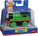 Fisher Price Thomas & Friends Wooden Railway Train, Percy - Battery Operated Train  Y4423