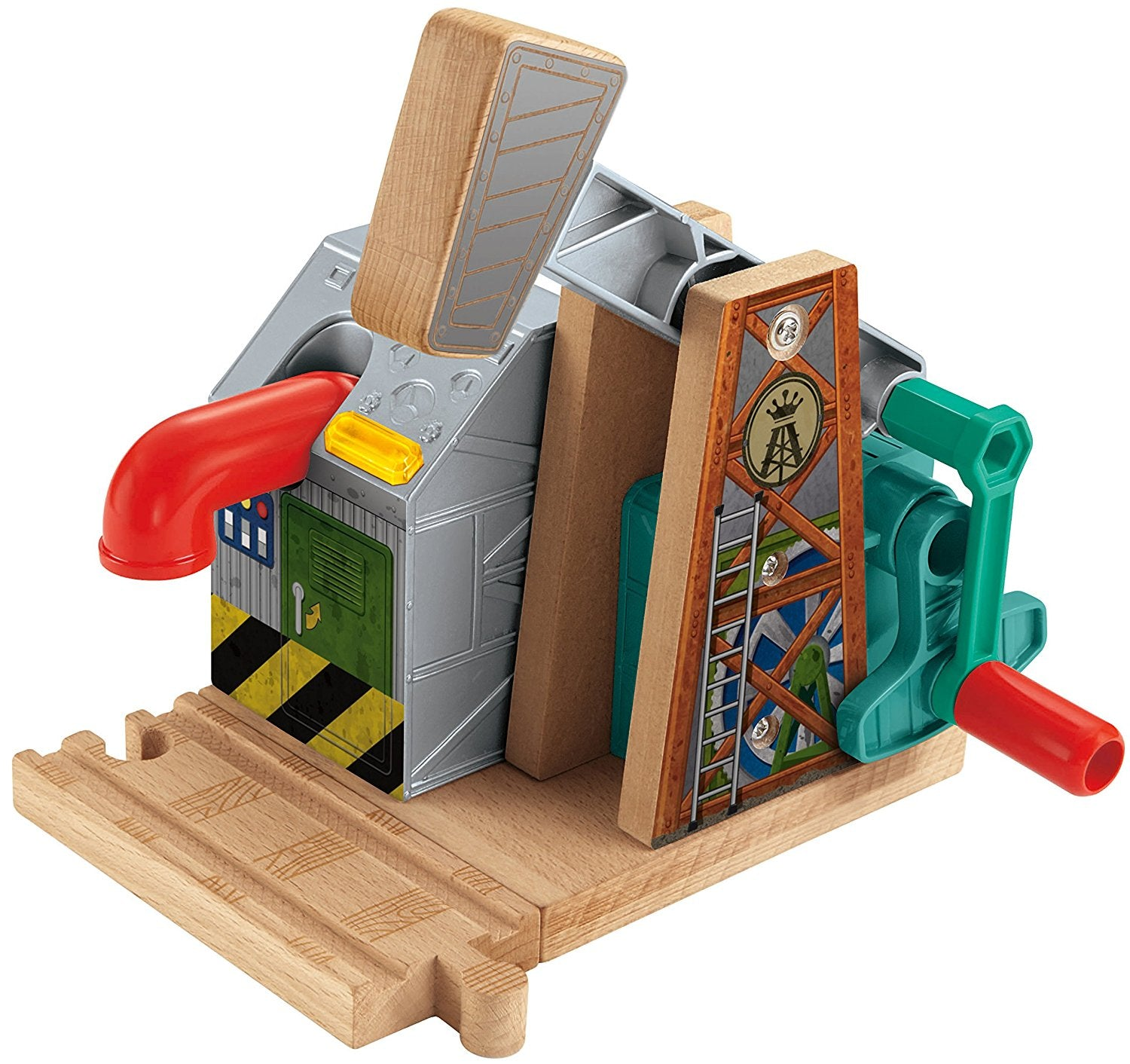 Fisher Price Thomas & Friends Wooden Railway, Sodor Oil Derrick - Battery Operated CDK44