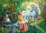 Ravensburger Children's Puzzles 100 pc Puzzles - Princess & Unicorn 10559