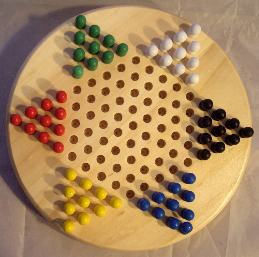 Perisphere and Trylon Chinese Checkers RG-60099