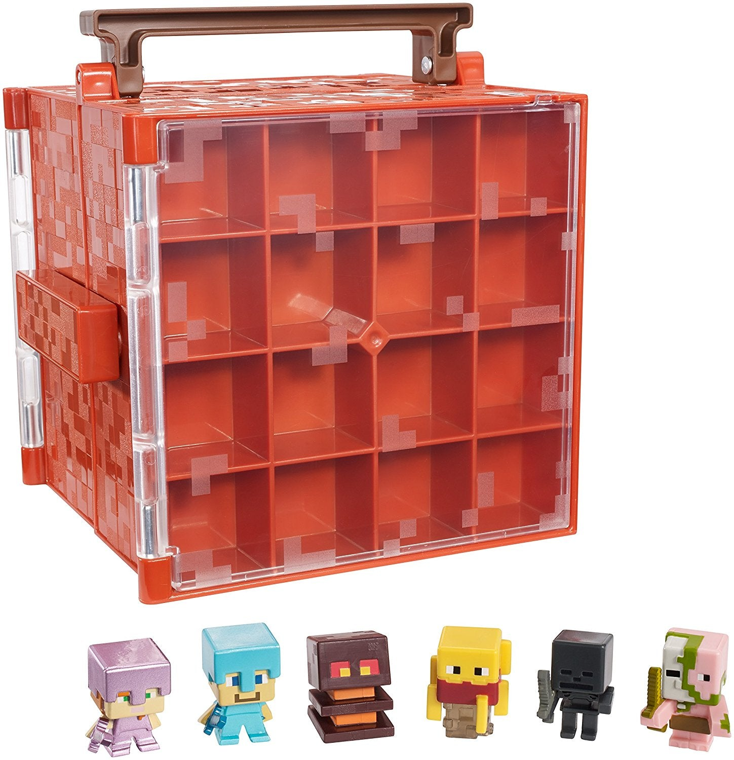 Mattel Minecraft Mini-Figure Nether Collector Case Accessory DWV91