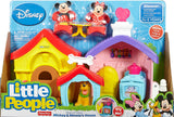 Fisher-Price Little People Magic of Disney Mickey and Minnie's House Playset CHX04
