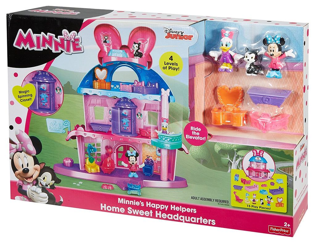 Fisher Price Disney Minnie Mouse – Home Sweet Headquarters DTR38