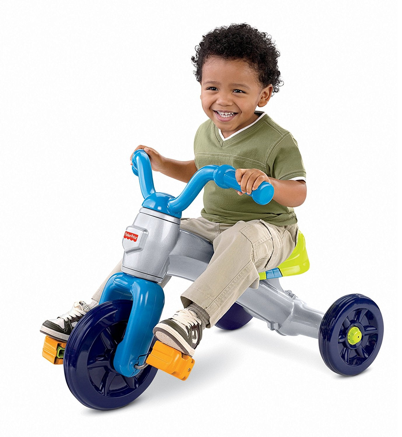 Fisher Price Grow With Me Trike Blue P6831
