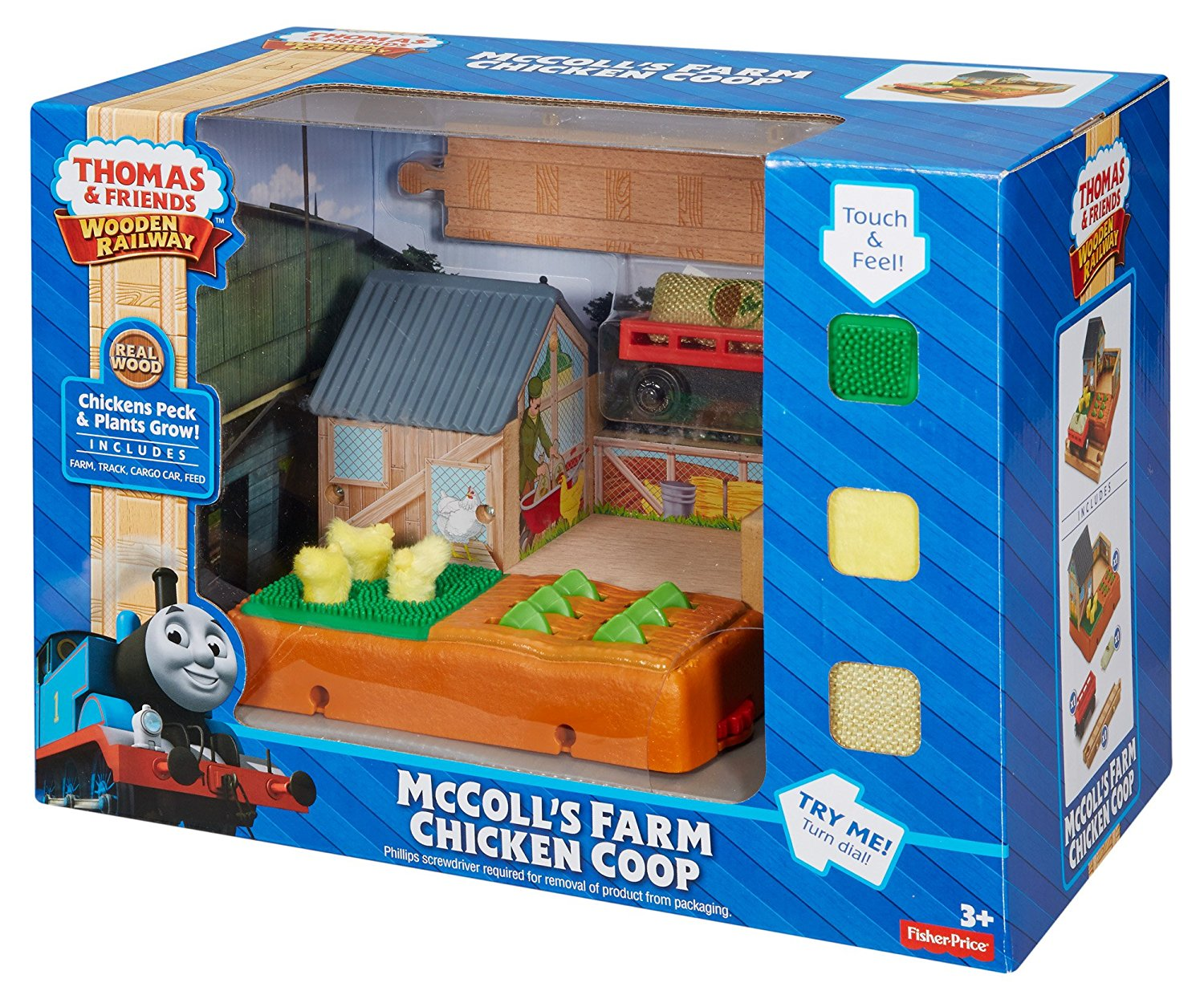 Fisher Price Thomas & Friends™ Wooden Railway McColl's Farm Chicken Coop DFX05