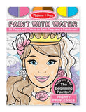 Melissa Doug Paint with Water - Pretty Princesses 9434