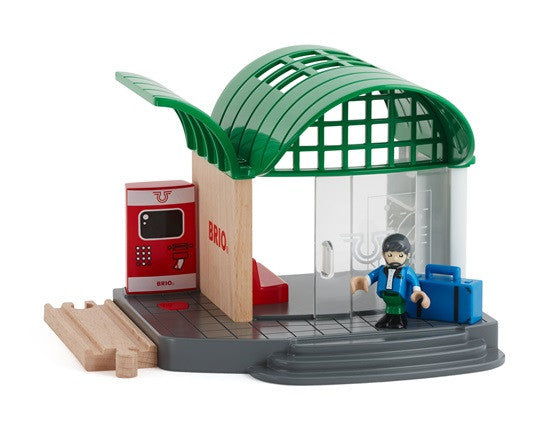 Brio Railway - Accessories - Train Station 33745