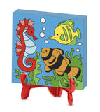 Melissa Doug Canvas Painting Set - Animals 9448