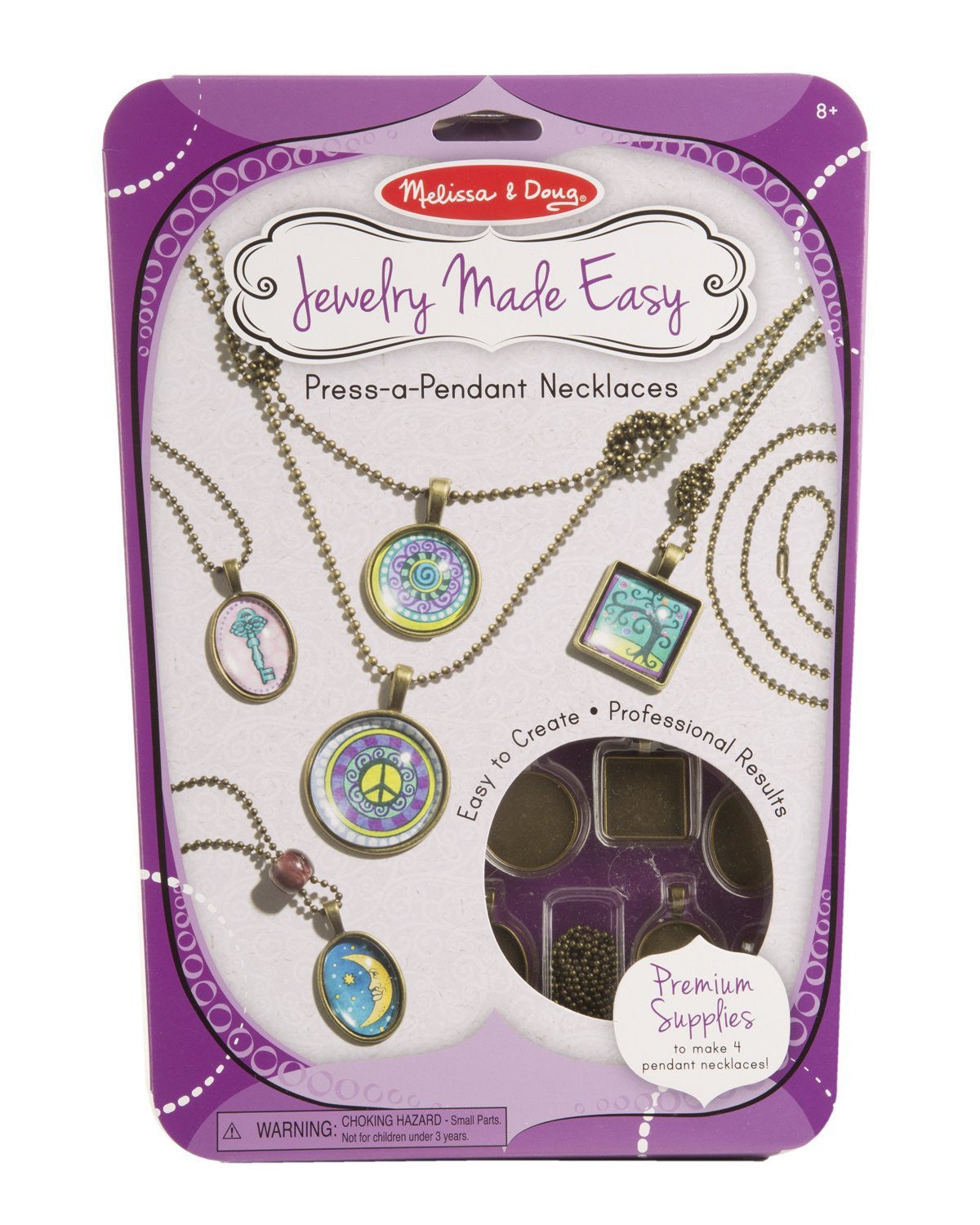 Jewelry Made Easy - Press-a-Pendant Necklaces 9471