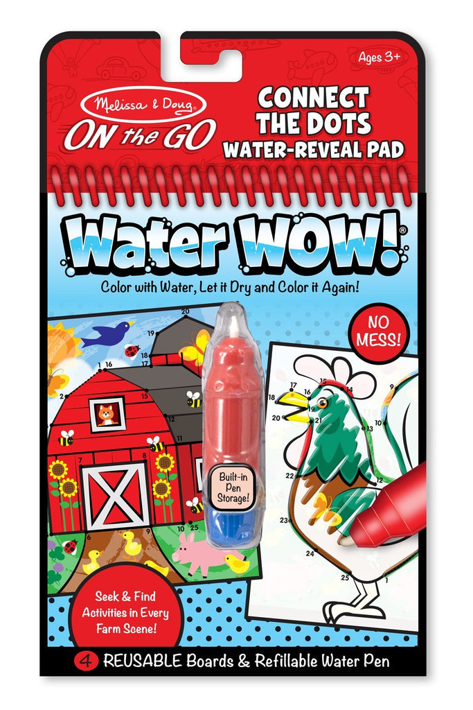 Melissa Doug Water Wow! Connect the Dots 9485