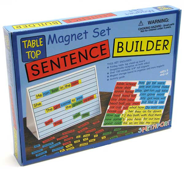 Alpha & Pre-Reading Sentence Builder  827