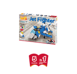 LaQ Hamacron Constructor - Jet Fighter LAQ001658 by LaQ Blocks
