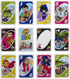 Mattel UNO Teen Titans Card Game FDJ14