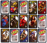 Mattel  UNO DC Justice League Card Game  FDV59