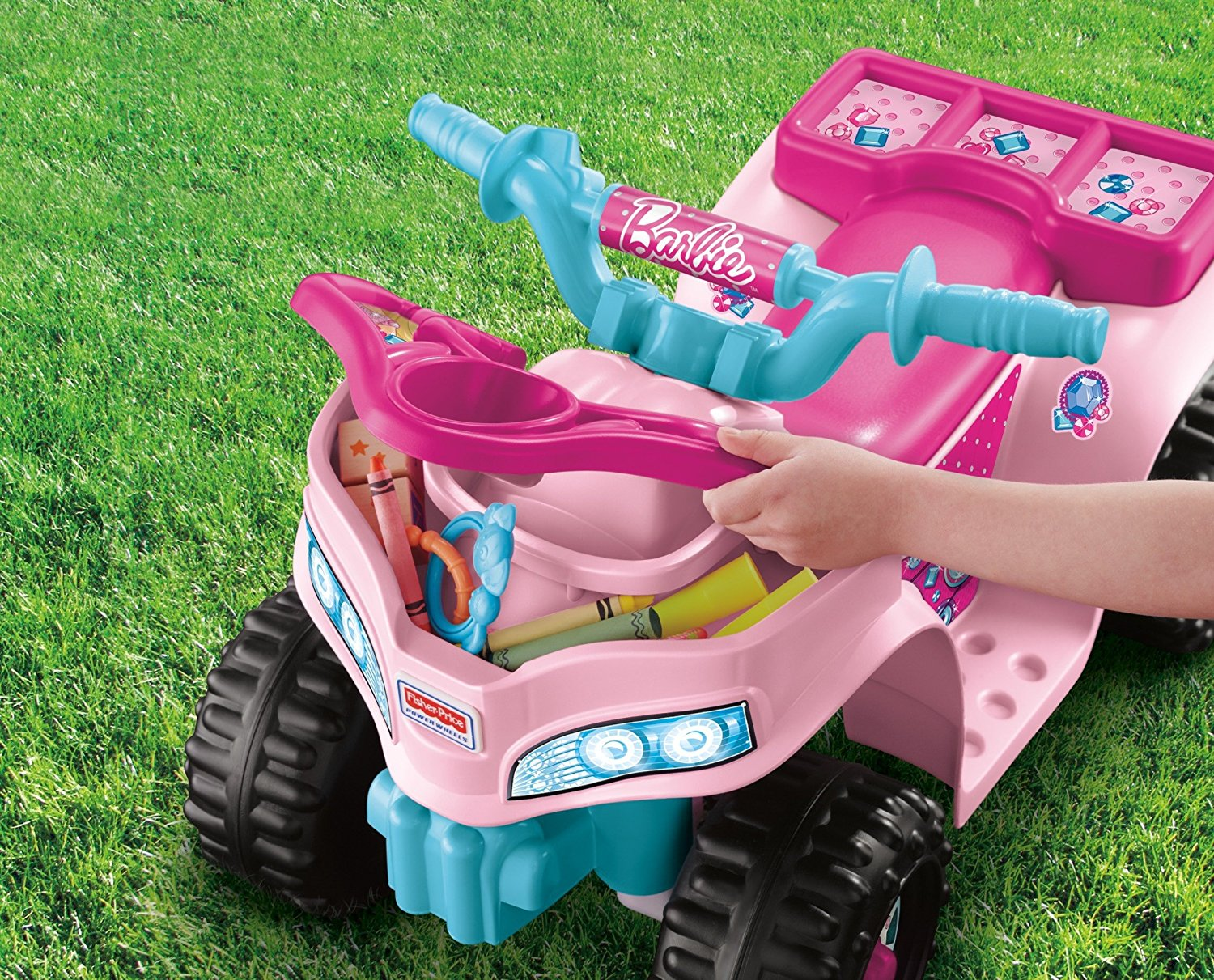 Fisher Price Power Wheels Barbie Lil Quad Vehicle Ride On Cdy14 You Are My Everything Yame Inc