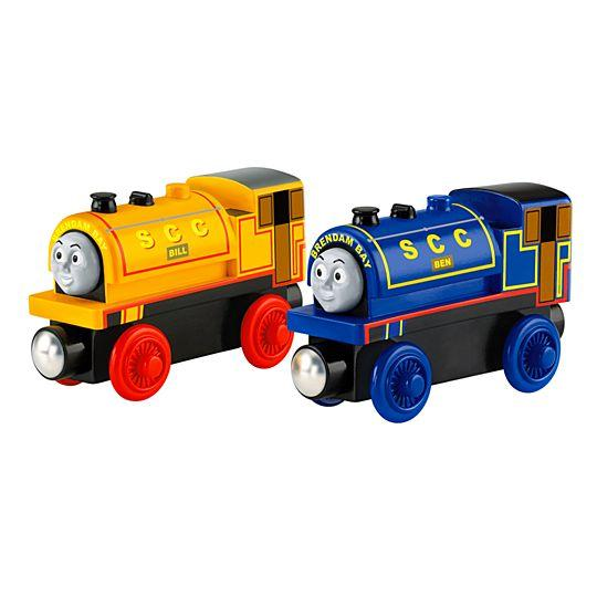 Fisher Price Thomas & Friends™ Wooden Railway Bill and Ben BDG18