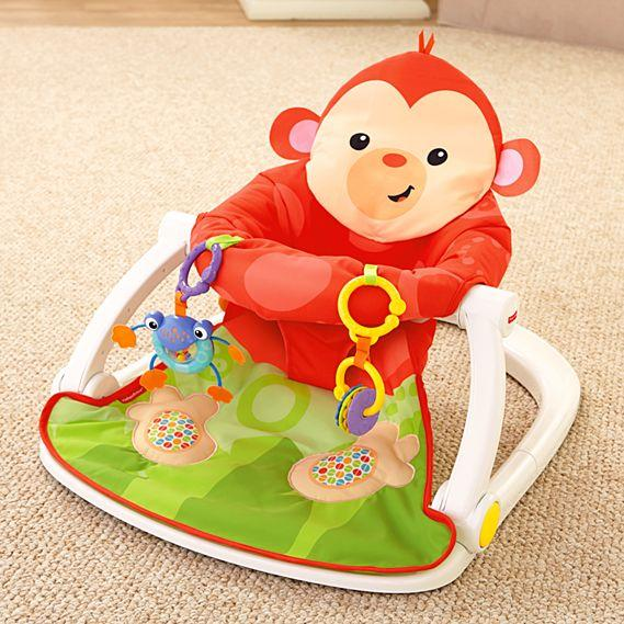 Fisher Price Deluxe Sit-Me-Up Floor Seat BFB15