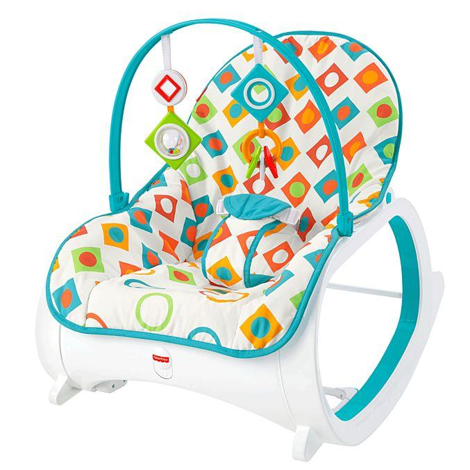 Fisher Price Infant-to-Toddler Rocker - Geo Diamonds CMP83