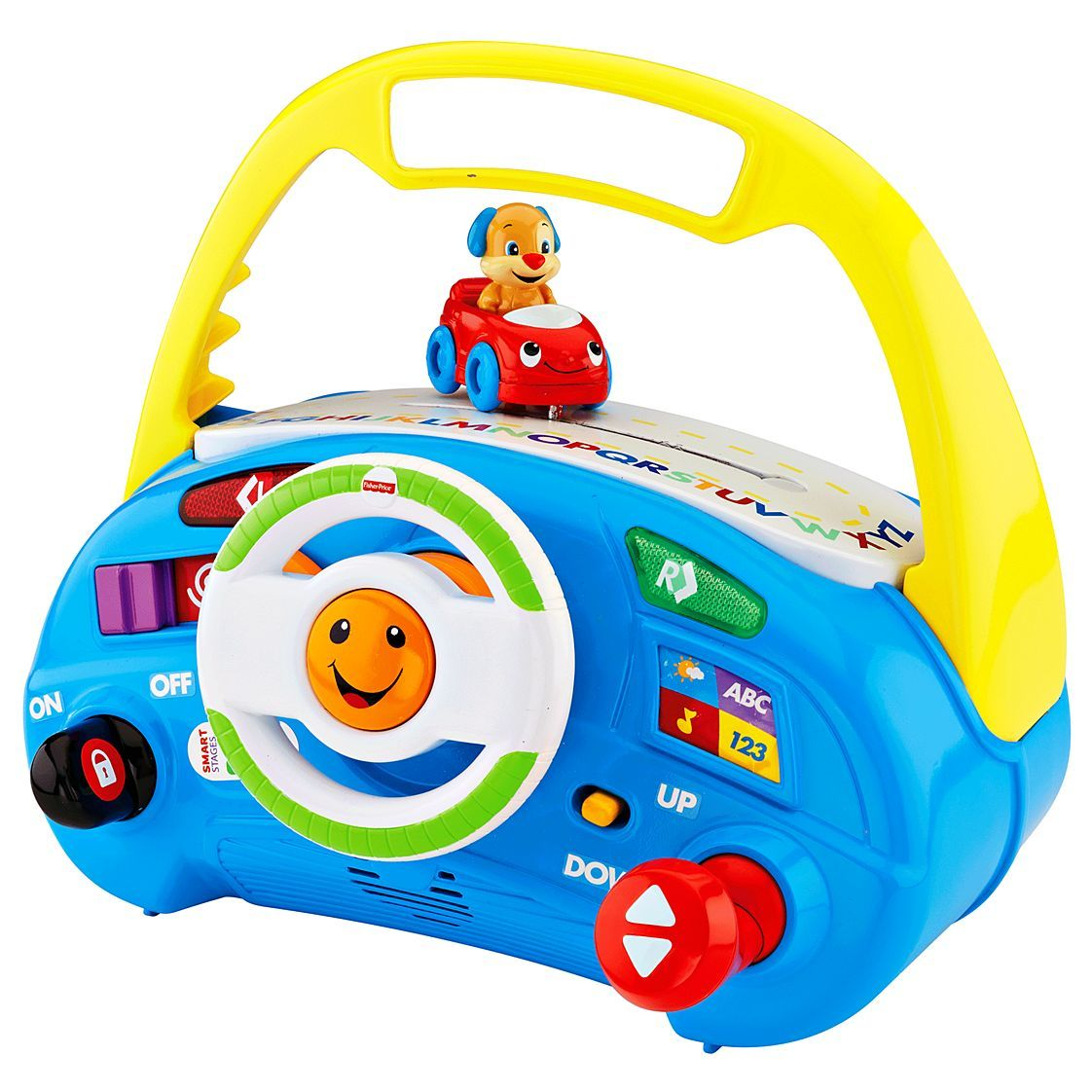 Fisher Pricel Laugh & Learn™ Puppy's Smart Stages™ Driver CMW46