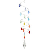 Woodstock Crystal Spiral - Rainbow Icicles CS22