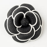 Flower Hair Clip 9944 with Brooch Pin