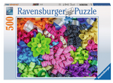 Ravensburger Adult Puzzles 500 pc Puzzles - Colorful Ribbons 14691